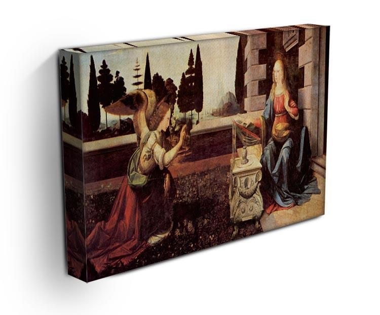 Announcement to Maria 2 by Da Vinci Canvas Print & Poster - Canvas Art Rocks - 3