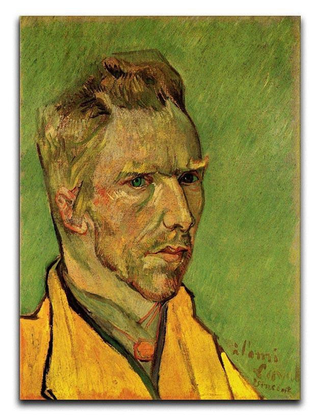 Another Self-Portrait by Van Gogh Canvas Print or Poster