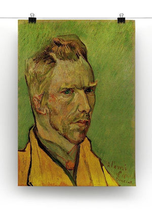 Another Self-Portrait by Van Gogh Canvas Print & Poster - Canvas Art Rocks - 2