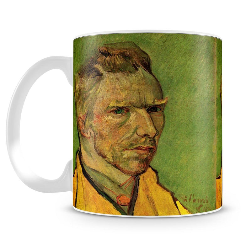 Another Self-Portrait by Van Gogh Cup - Canvas Art Rocks - 4