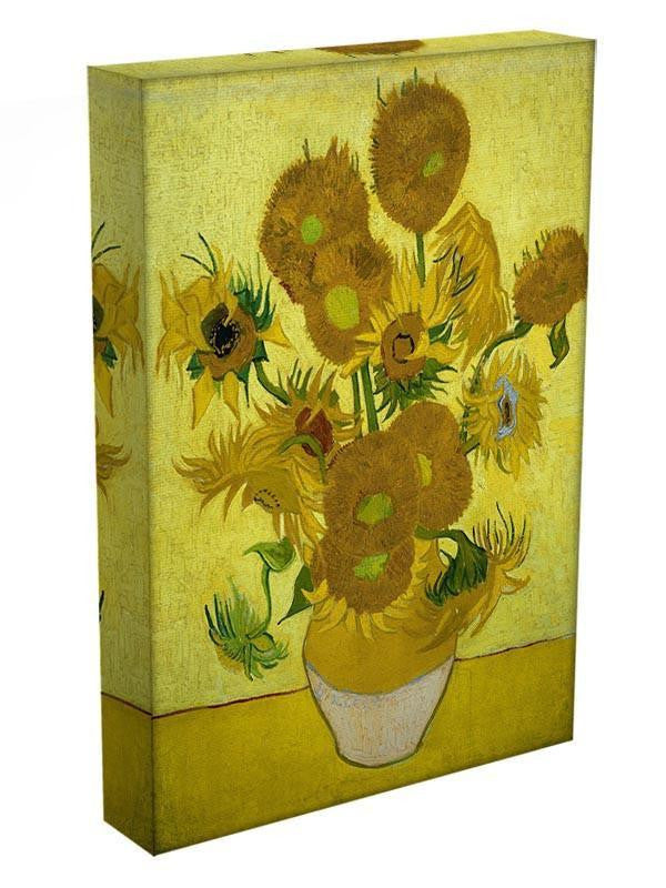 Another vase of sunflowers Canvas Print & Poster - Canvas Art Rocks - 3