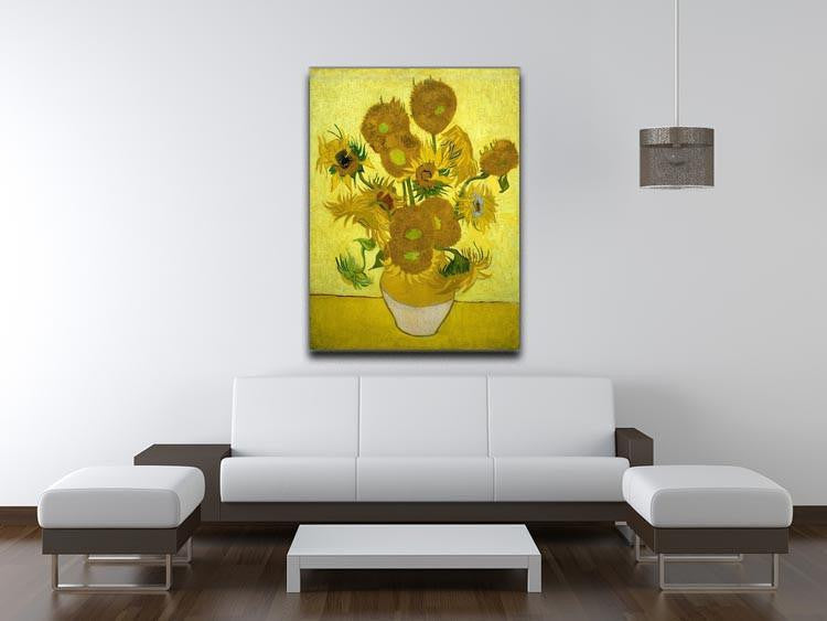 Another vase of sunflowers Canvas Print & Poster - Canvas Art Rocks - 4