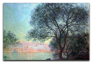 Antibes seen from La Salis by Monet Canvas Print & Poster  - Canvas Art Rocks - 1