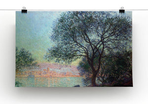 Antibes seen from La Salis by Monet Canvas Print & Poster - Canvas Art Rocks - 2