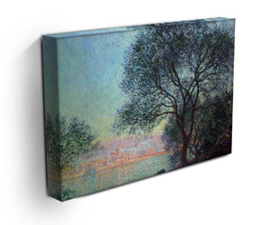 Antibes seen from La Salis by Monet Canvas Print & Poster - Canvas Art Rocks - 3