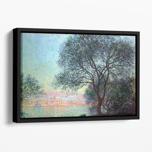 Antibes seen from La Salis by Monet Floating Framed Canvas