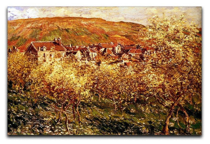 Apple Trees In Blossom by Monet Canvas Print & Poster  - Canvas Art Rocks - 1
