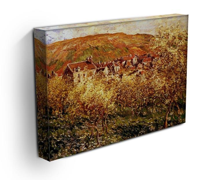 Apple Trees In Blossom by Monet Canvas Print & Poster - Canvas Art Rocks - 3