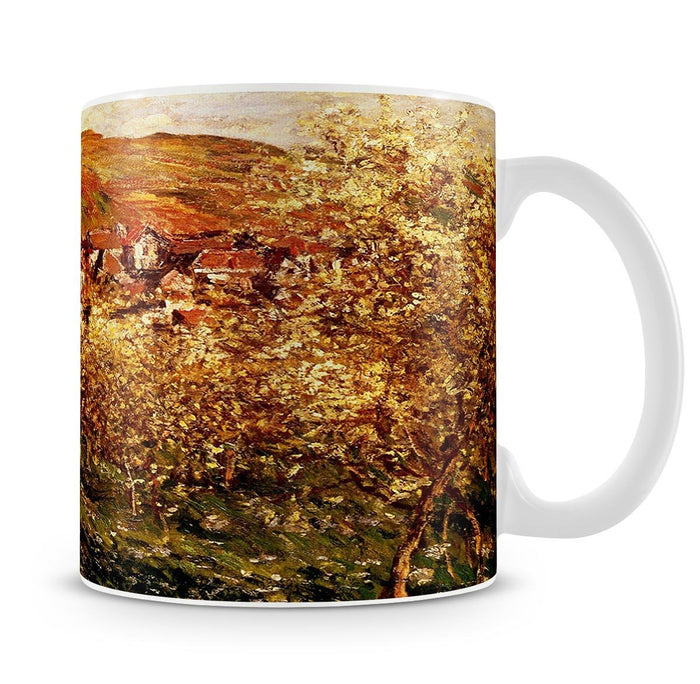Apple Trees In Blossom by Monet Mug