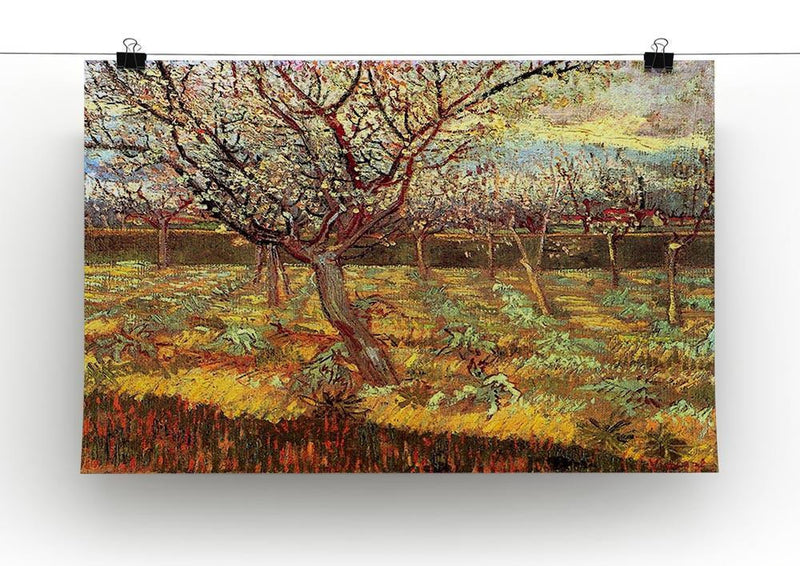 Apricot Trees in Blossom by Van Gogh Canvas Print & Poster - Canvas Art Rocks - 2