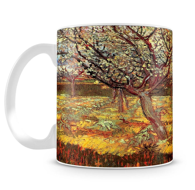 Apricot Trees in Blossom by Van Gogh Cup - Canvas Art Rocks - 4