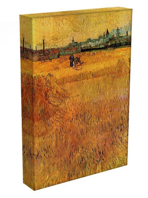 Arles View from the Wheat Fields by Van Gogh Canvas Print & Poster - Canvas Art Rocks - 3