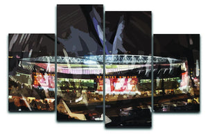 Arsenal Emirates Stadium 4 Split Panel Canvas  - Canvas Art Rocks - 1