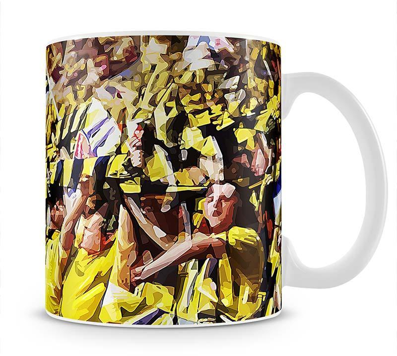 Arsenal Fans Cup - Canvas Art Rocks - 1