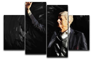 Arsene Wenger 4 Split Panel Canvas  - Canvas Art Rocks - 1
