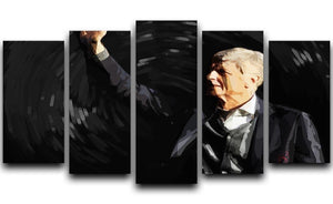 Arsene Wenger 5 Split Panel Canvas  - Canvas Art Rocks - 1