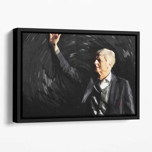 Arsene Wenger Floating Framed Canvas