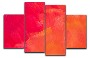 Art abstract painted background 4 Split Panel Canvas  - Canvas Art Rocks - 1