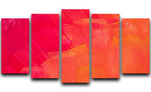 Art abstract painted background 5 Split Panel Canvas  - Canvas Art Rocks - 1