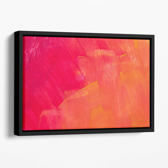 Art abstract painted background Floating Framed Canvas