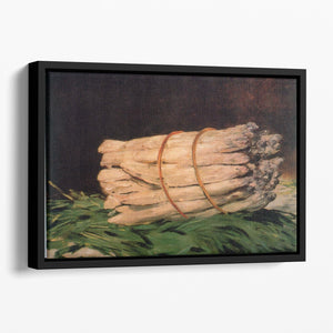 Asperagus by Manet Floating Framed Canvas