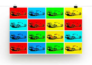 Aston Martin Vantage Pop Art Print - Canvas Art Rocks - 2