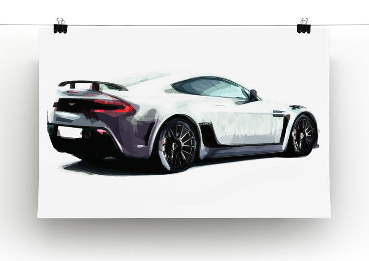 Aston Martin Print - Canvas Art Rocks - 2