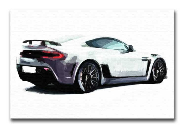 Aston Martin Print - Canvas Art Rocks - 1