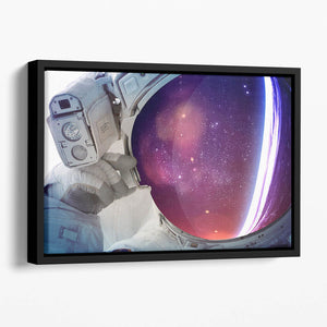 Astronaut Floating Framed Canvas
