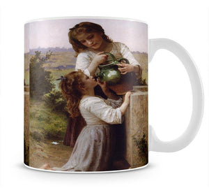 At The Fountain 2 By Bouguereau Mug - Canvas Art Rocks - 1