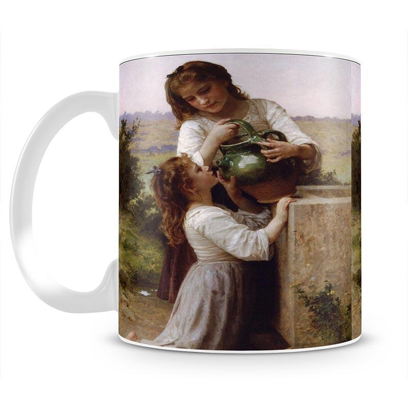 At The Fountain 2 By Bouguereau Mug - Canvas Art Rocks - 2