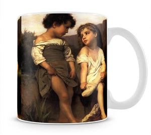 At the Edge of the Brook By Bouguereau Mug - Canvas Art Rocks - 1