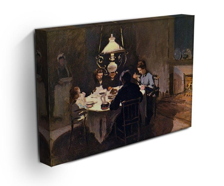 At the Table by Monet Canvas Print & Poster - Canvas Art Rocks - 3