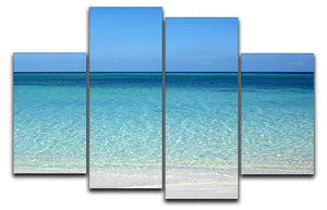 Atlantic Ocean 4 Split Panel Canvas - Canvas Art Rocks - 1