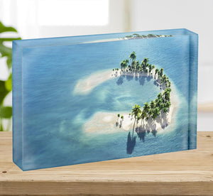 Atoll Acrylic Block - Canvas Art Rocks - 2