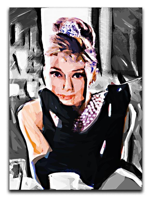 Audrey Hepburn Canvas Print or Poster  - Canvas Art Rocks - 1