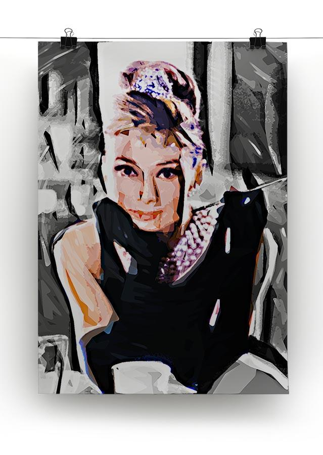Audrey Hepburn Canvas Print or Poster - Canvas Art Rocks - 2