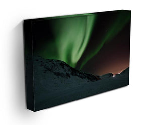 Aurora Mountains Canvas Print - Canvas Art Rocks - 3