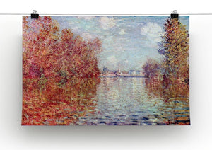 Autumn in Argenteuil by Monet Canvas Print & Poster - Canvas Art Rocks - 2