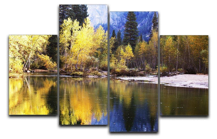 Autumn scene 4 Split Panel Canvas
