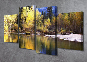 Autumn scene 4 Split Panel Canvas  - Canvas Art Rocks - 2