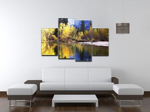 Autumn scene 4 Split Panel Canvas  - Canvas Art Rocks - 3