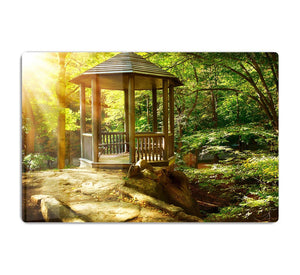 Autumnal Park Landscaping HD Metal Print