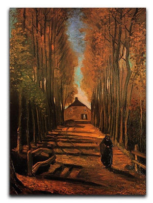 Avenue of Poplars in Autumn by Van Gogh Canvas Print & Poster  - Canvas Art Rocks - 1