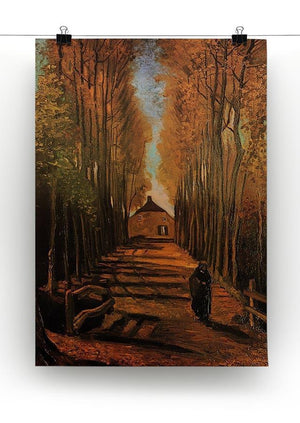 Avenue of Poplars in Autumn by Van Gogh Canvas Print & Poster - Canvas Art Rocks - 2
