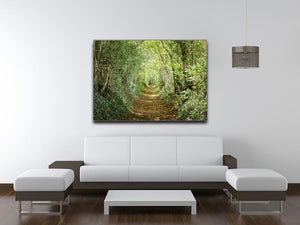 Avenue of trees Canvas Print or Poster - Canvas Art Rocks - 4