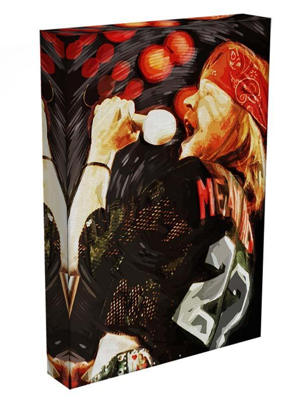 Axl Rose Guns and Roses Canvas Print or Poster - Canvas Art Rocks - 3