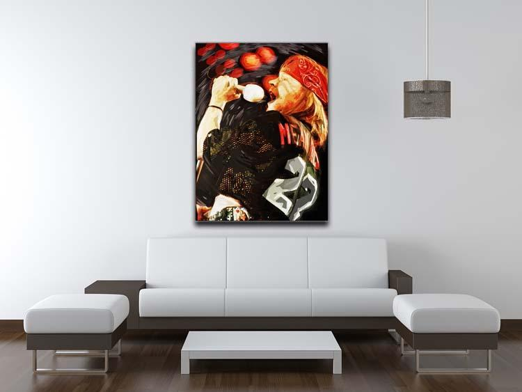 Axl Rose Guns and Roses Canvas Print or Poster - Canvas Art Rocks - 4