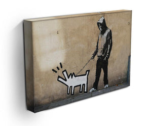 Banksy Keith Haring Dog Print - Canvas Art Rocks - 3