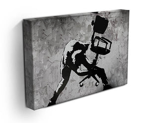Banksy London Calling Print - Canvas Art Rocks - 4